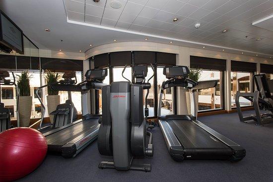 Fitness Center on Norwegian Epic