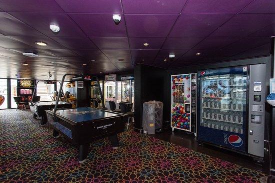 Video Arcade on Norwegian Epic