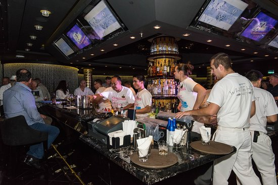 White Hot Party on Norwegian Epic