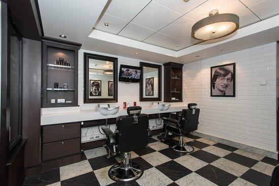 The Barber Shop on Norwegian Epic
