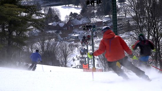 Ski Quechee: Scenic beauty with 650 degree vertical drop