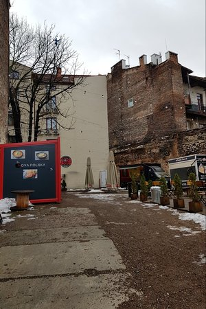 Food Truck Park in Kazmierz district
