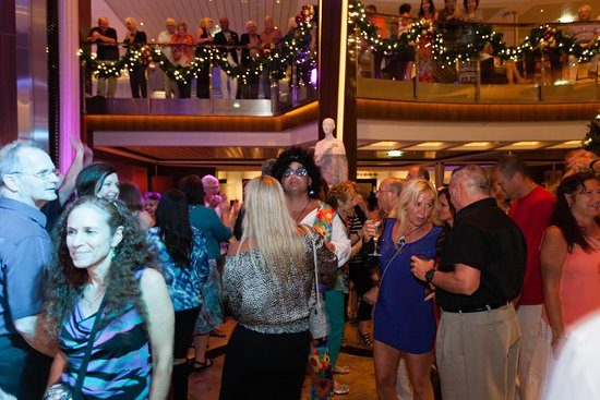 70s Party on Celebrity Silhouette