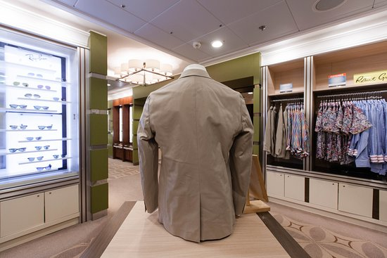 The Men's Store on Celebrity Silhouette