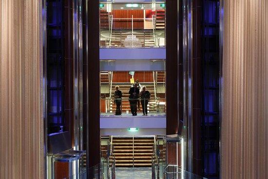 Atrium on Celebrity Silhouette