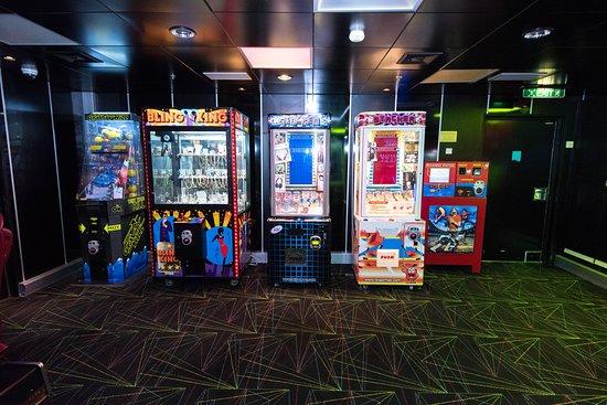 Challengers Arcade on Serenade of the Seas