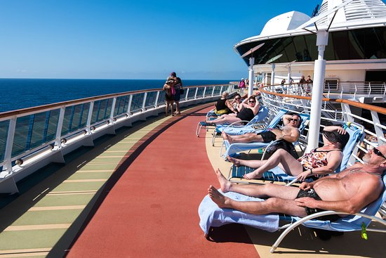 The Sun Deck on Serenade of the Seas