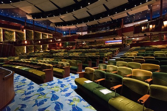 Tropical Theatre on Serenade of the Seas