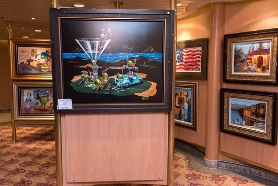 Art Gallery on Serenade of the Seas