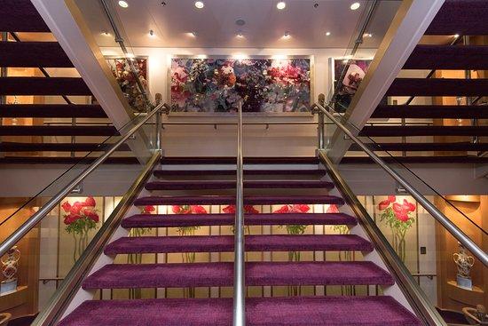 Stairs on Serenade of the Seas