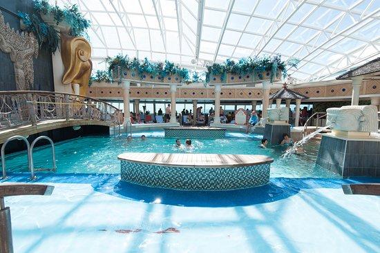 The Solarium on Serenade of the Seas