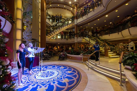 The Piazza on Caribbean Princess