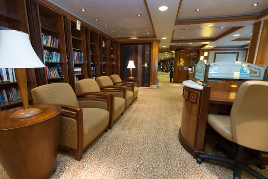 Library on Caribbean Princess