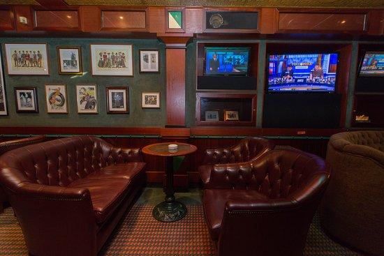 Churchill Lounge on Caribbean Princess