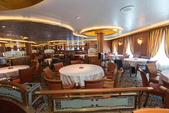 Palm Dining Room on Caribbean Princess
