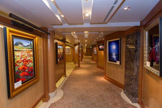 Princess Fine Arts Gallery on Caribbean Princess