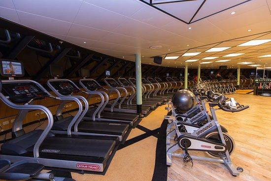 Fitness Center on Caribbean Princess