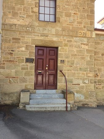 The Entrance To The Old Telegraph Station Castlemaine