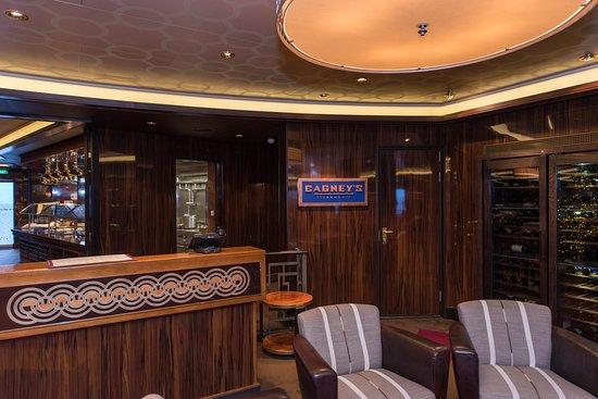 Norwegian Breakaway: Cagney's Steakhouse on Norwegian Breakaway
