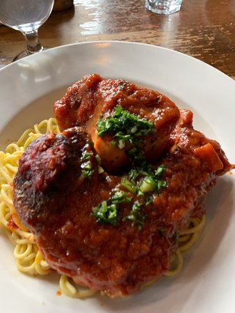 Wienstein & Gavino's: Oso Bucco soooo delicious and worth every bite!