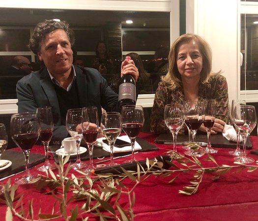 Vila Velha de Rodao, Portugal: Os artífices da Adega 23 . o enólogo Rui Reguinga e a empresária proprietária - Manuela Carmona