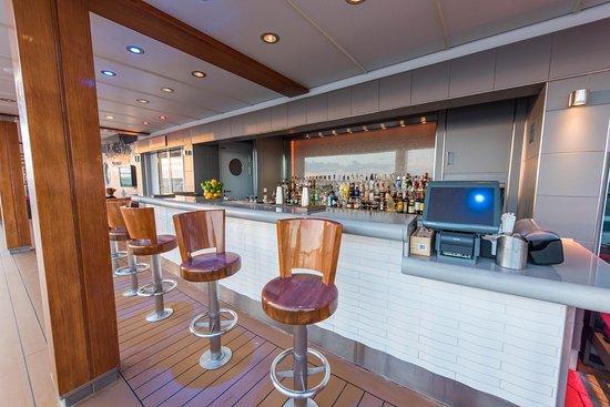 Shaker's Martini Bar On the Waterfront on Norwegian Breakaway