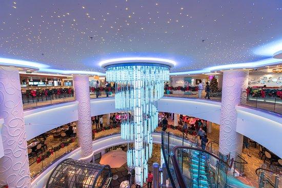 Atrium on Norwegian Breakaway