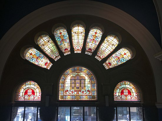 One of the gorgeous windows