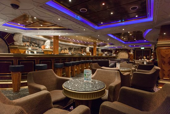 Alfred's Bar on Carnival Conquest