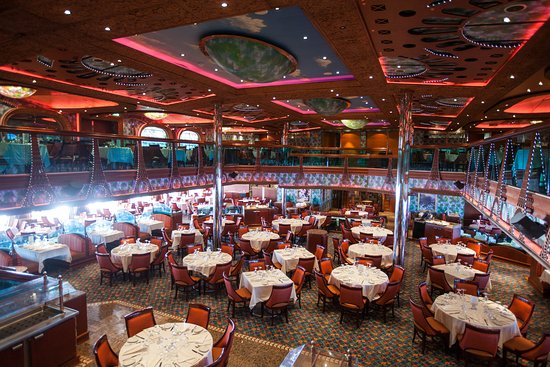 Renoir Restaurant on Carnival Conquest