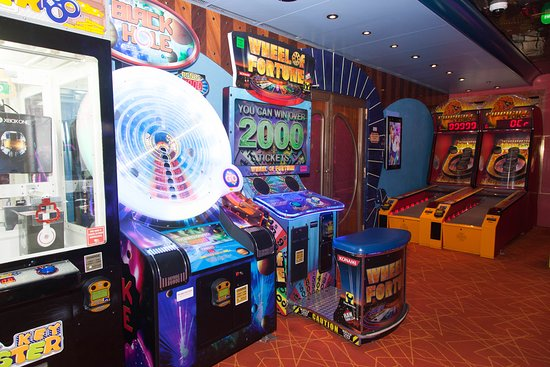 Video Arcade on Carnival Conquest