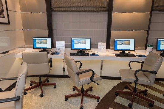Internet Cafe on Royal Princess