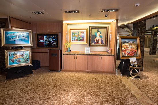 Art Gallery on Royal Princess
