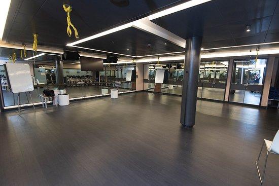 Fitness Center on Royal Princess