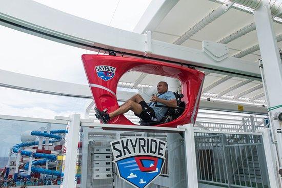SkyRide on Carnival Horizon