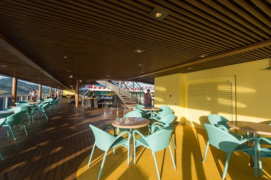 Exterior Deck on Carnival Horizon