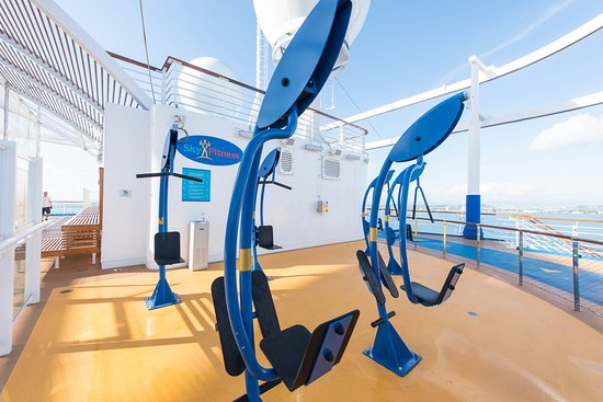 SkyFitness on Carnival Horizon