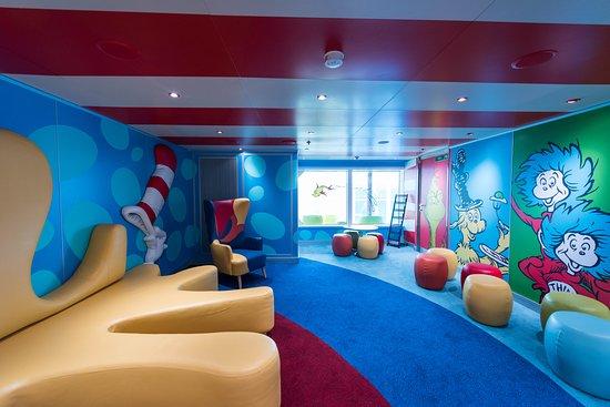 Dr. Seuss Bookville on Carnival Horizon