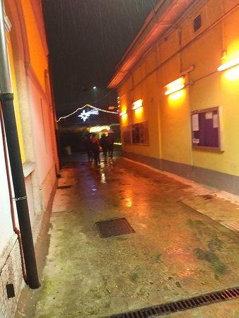 Ristorante della Balera dell'Ortica: L'ingresso