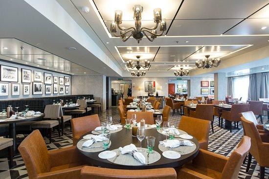Manfredi's Italian Restaurant on Viking Orion