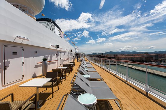 Sun Deck on Viking Orion