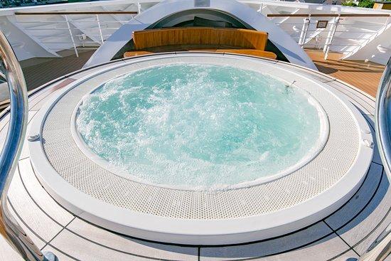 Whirlpool on Seabourn Ovation