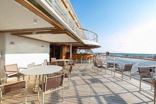 Sky Bar on Seabourn Ovation