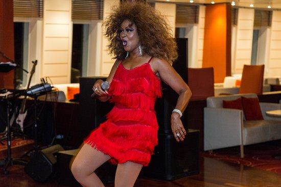 Tina Turner Tribute in Encore Lounge on Grand Classica