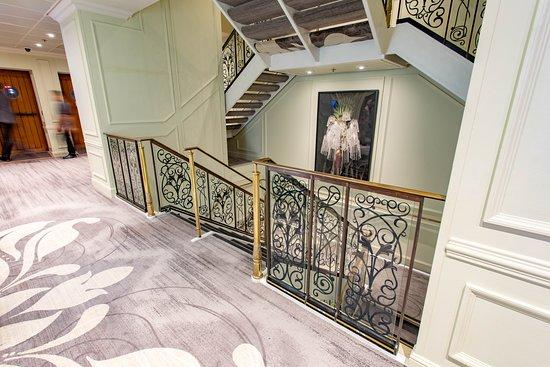 Stairs on Azamara Pursuit