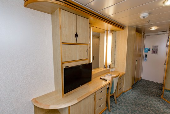 The Spacious Ocean-View Balcony Cabin on Mariner of the Seas