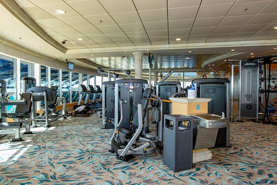 Fitness Center on Mariner of the Seas