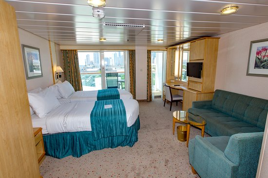The Accessible Ocean-View Cabin with Balcony on Mariner of the Seas