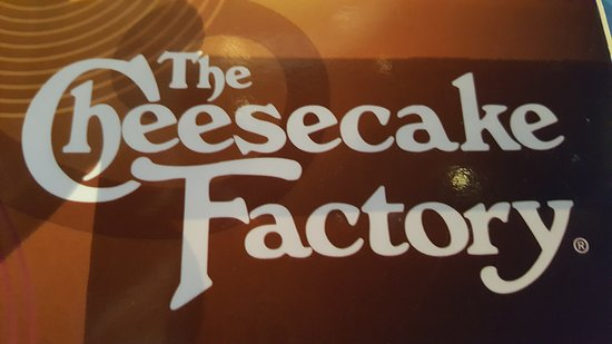 The Cheesecake Factory: Sign