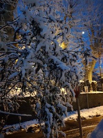 Foglizzo, Italien: La neve